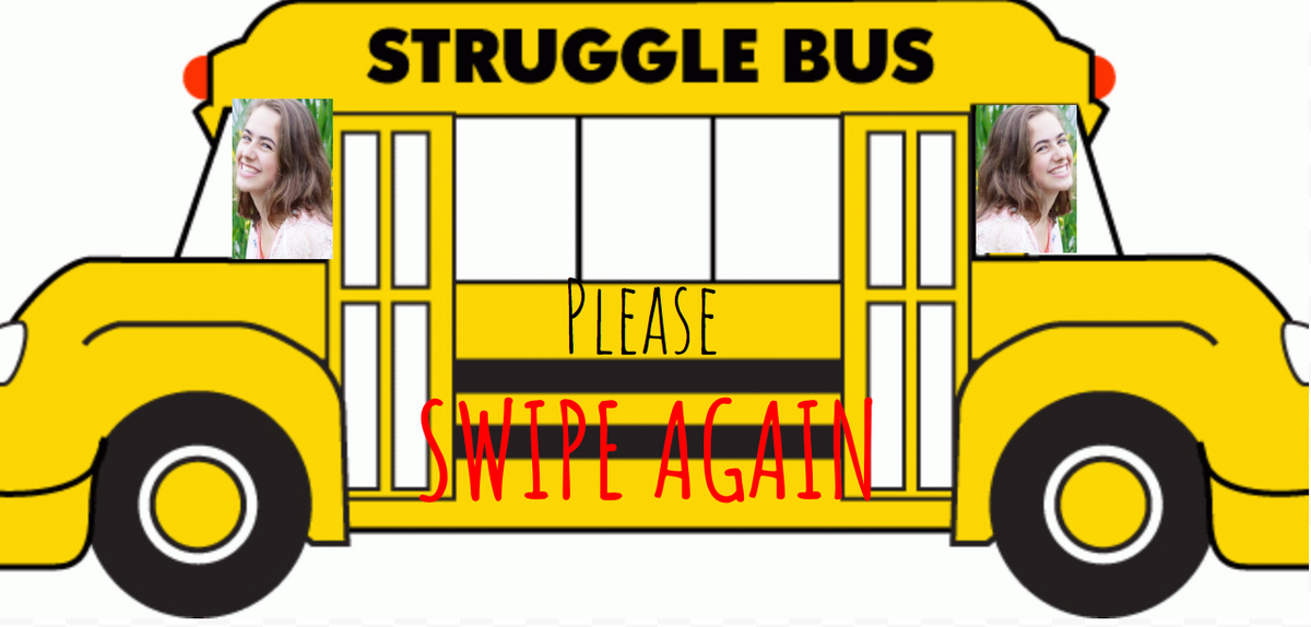 All Aboard The Night Desk Aid Struggle Bus (But Please Swipe First)
