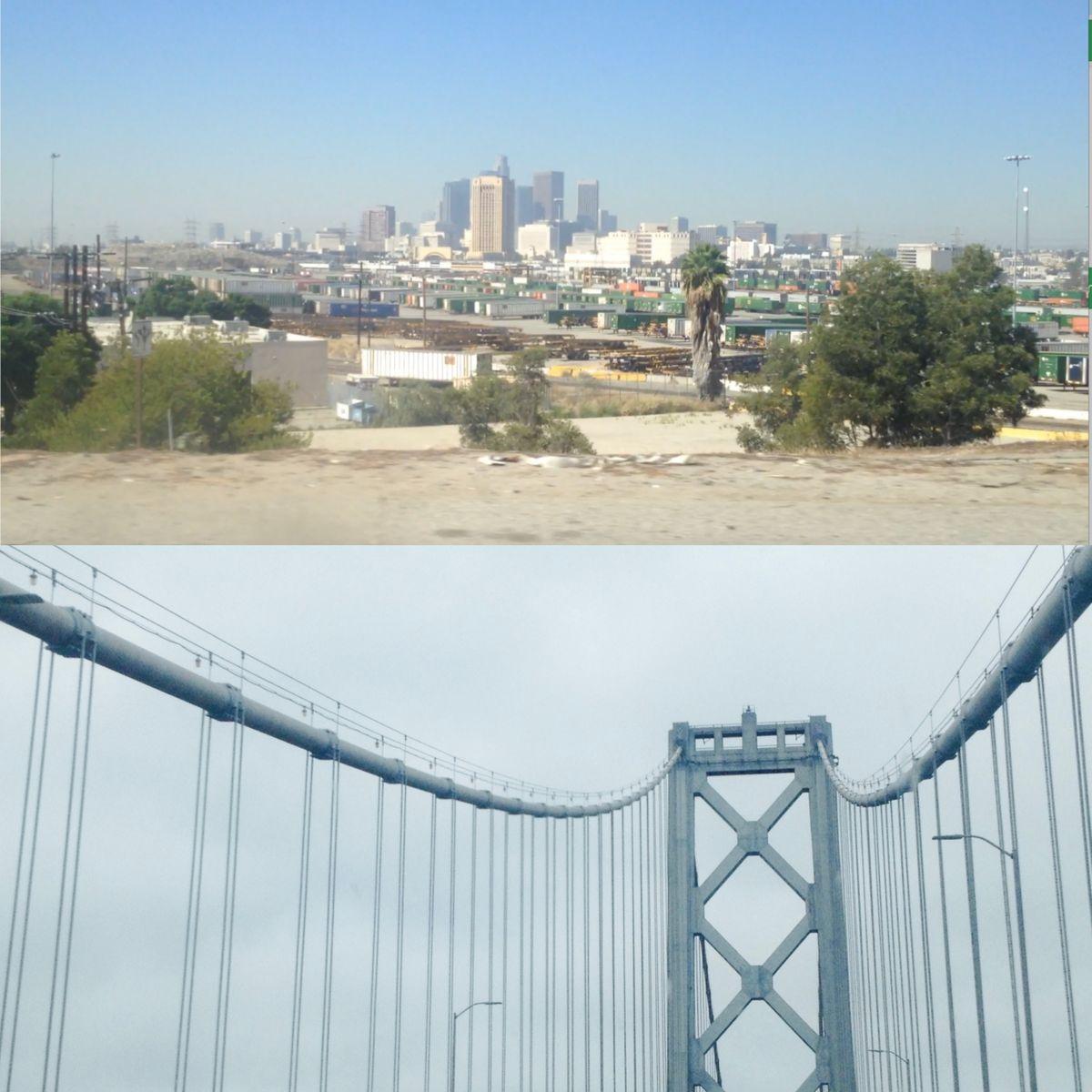 Los Angeles vs San Francisco