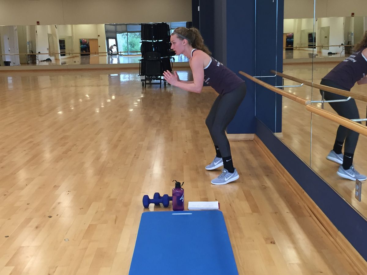 UNC Asheville's Freshman Fitness Instructor Breaks Barriers While Pursuing Her Dreams