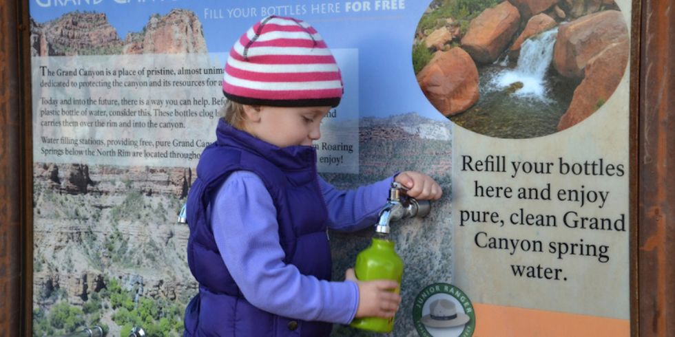 New Bill Aims to Restore 'Common-Sense' Plastic Water Bottle Ban in National Parks
