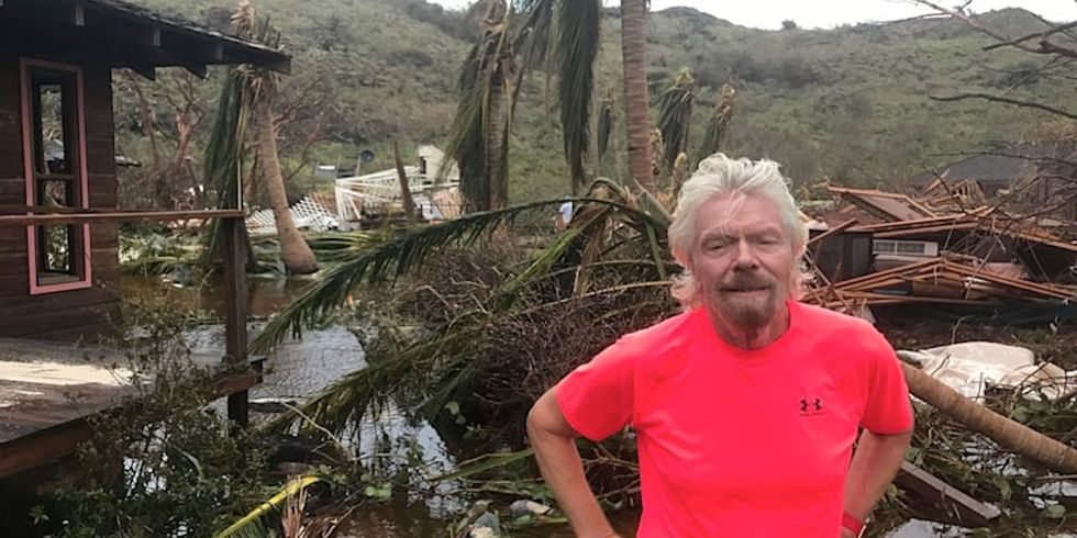 Richard Branson to Donald Trump: The Whole World Knows Climate Change is Real