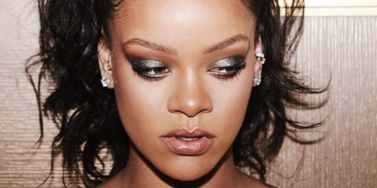 """Rihanna Unveils Fenty Beauty Holiday """"Galaxy"""" Collection on Instagram"""
