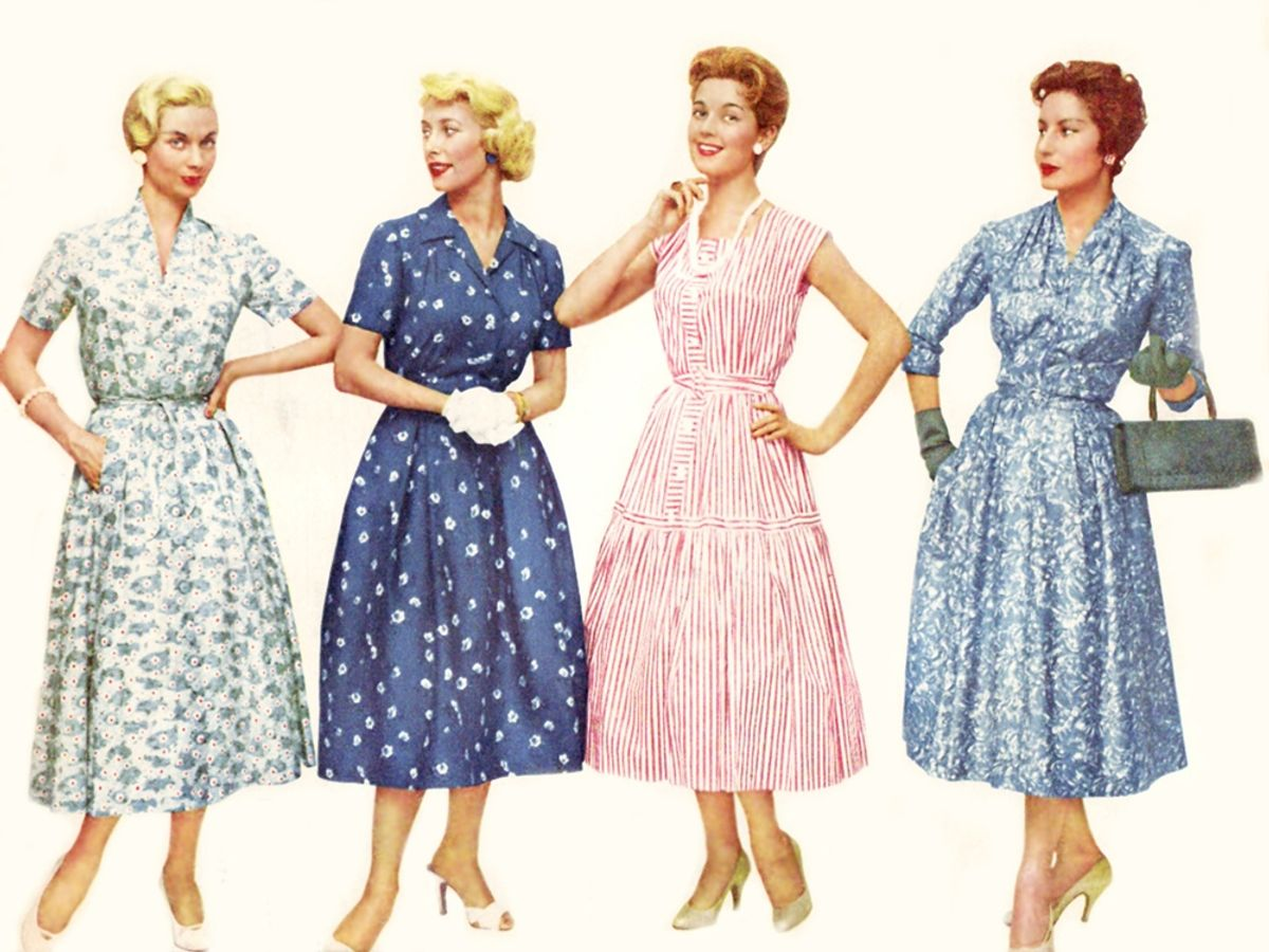 Decade Of Elegance: Combining Femininity With Fashion In The 1950s