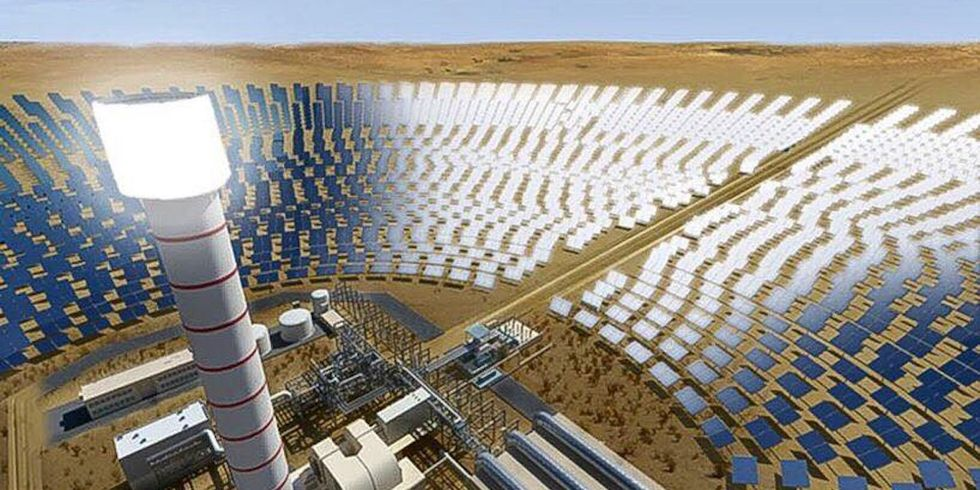 World's Largest Solar Park to Also Host World's Tallest Solar Tower