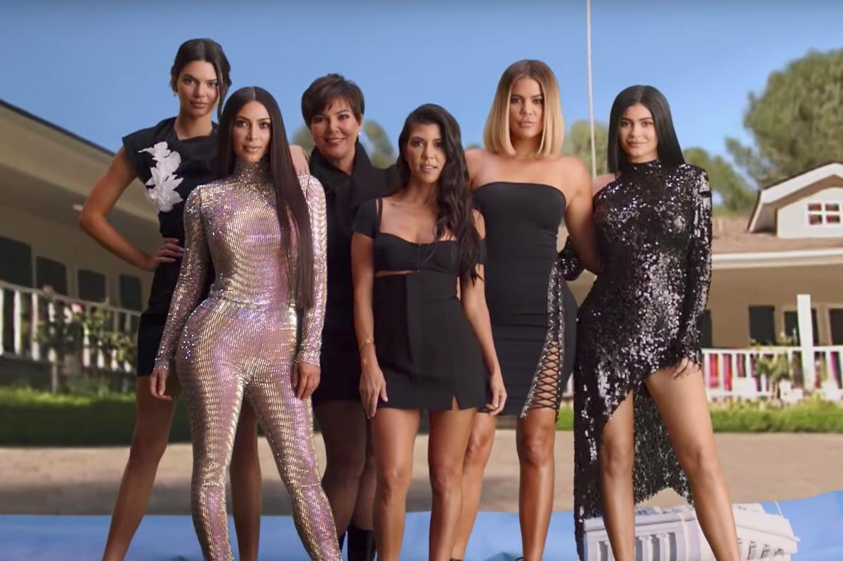 The Kardashians Recreate Their Iconic Intro
