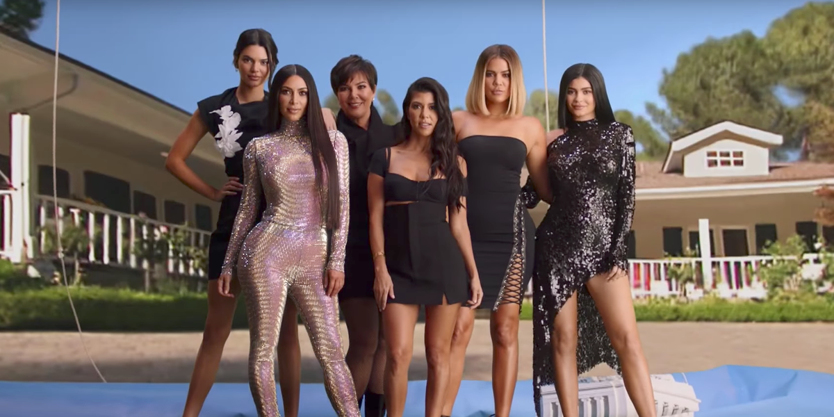 The Kardashians Recreate Their Iconic Intro