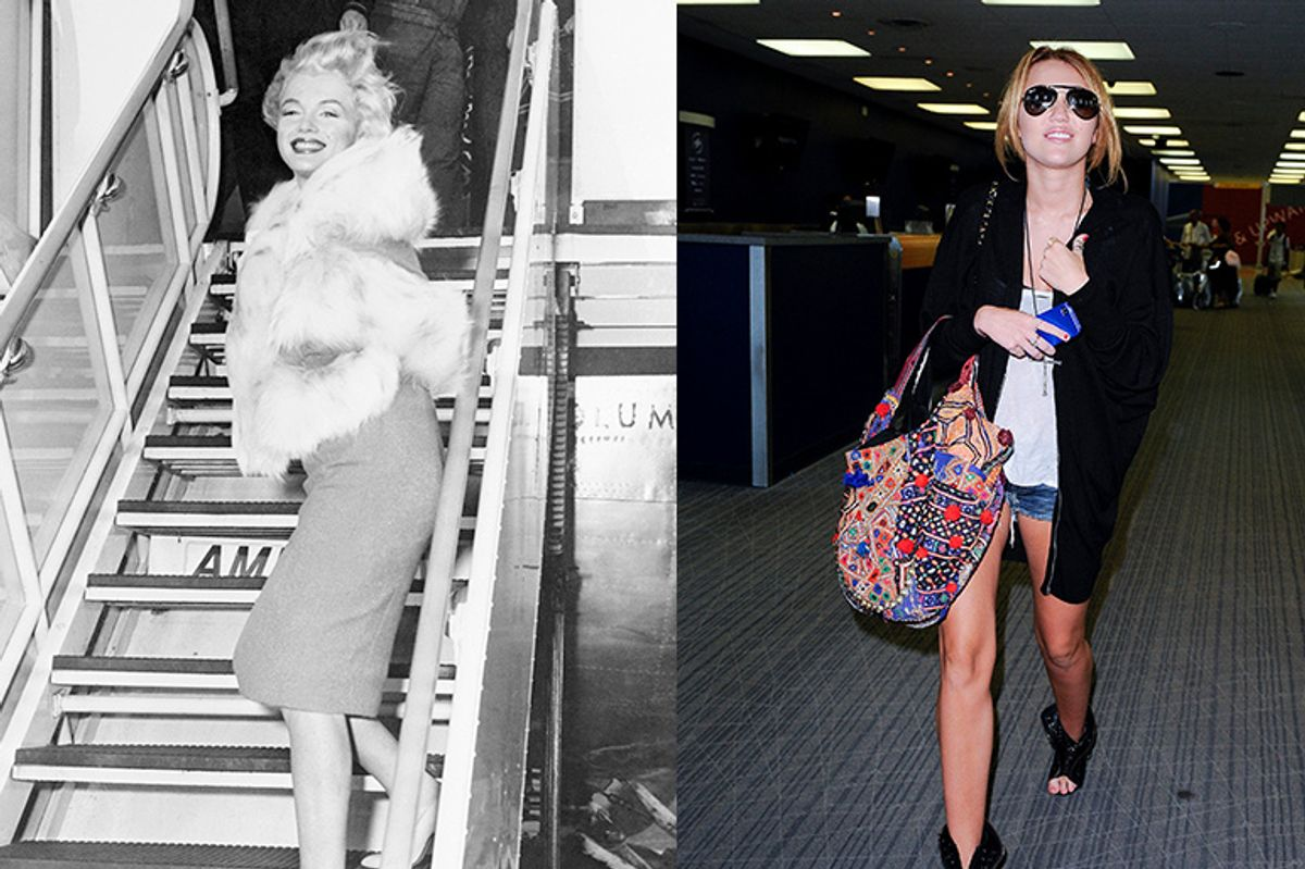 Planes, Trains, and Airport Runways: Examining the Evolution of Celebrity Travel Style