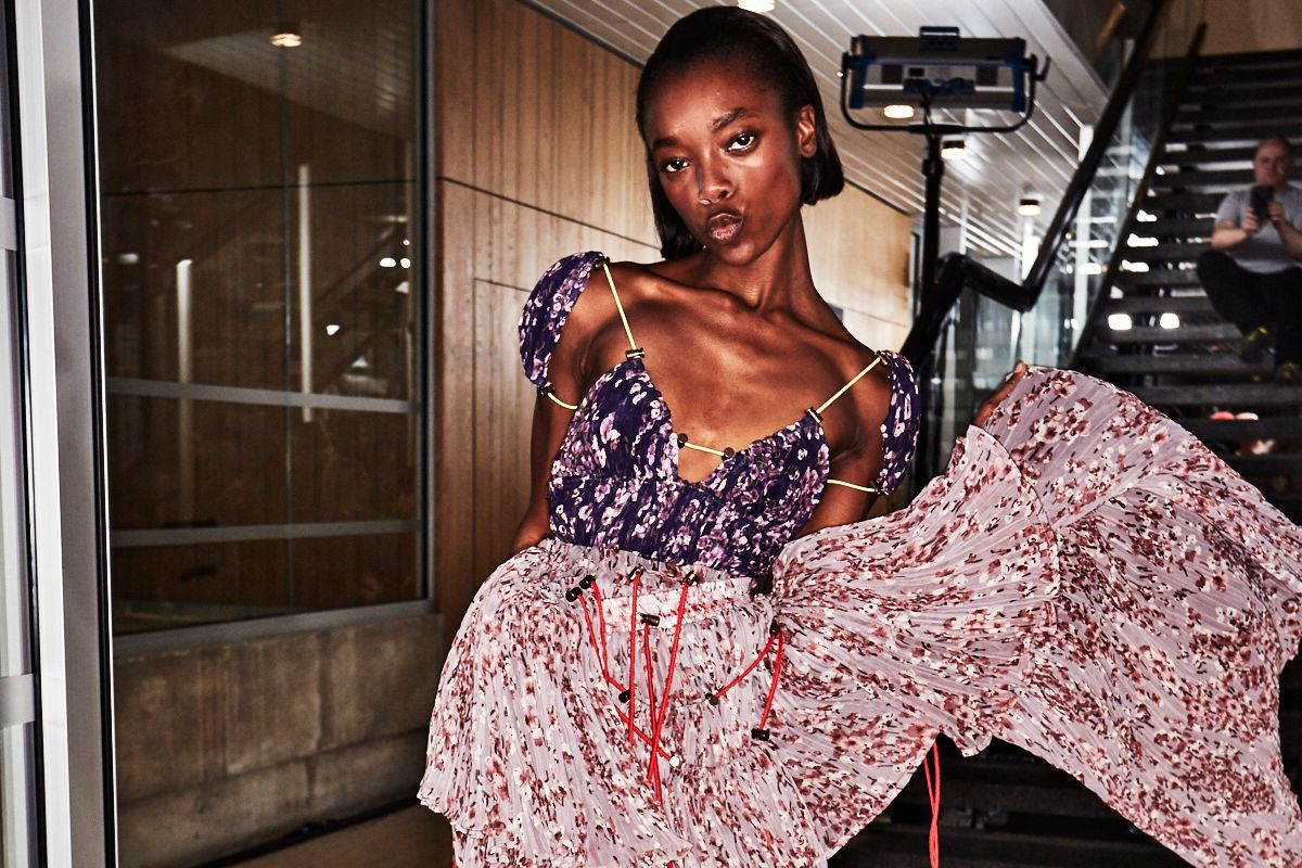 Go Backstage at the First Shows of Paris Fashion Week