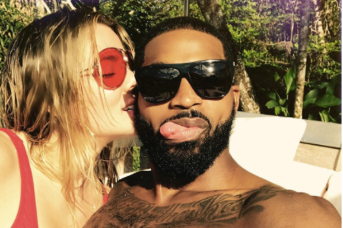 Khloe Kardashian Is Reportedly Pregnant with Tristan Thompson's Baby