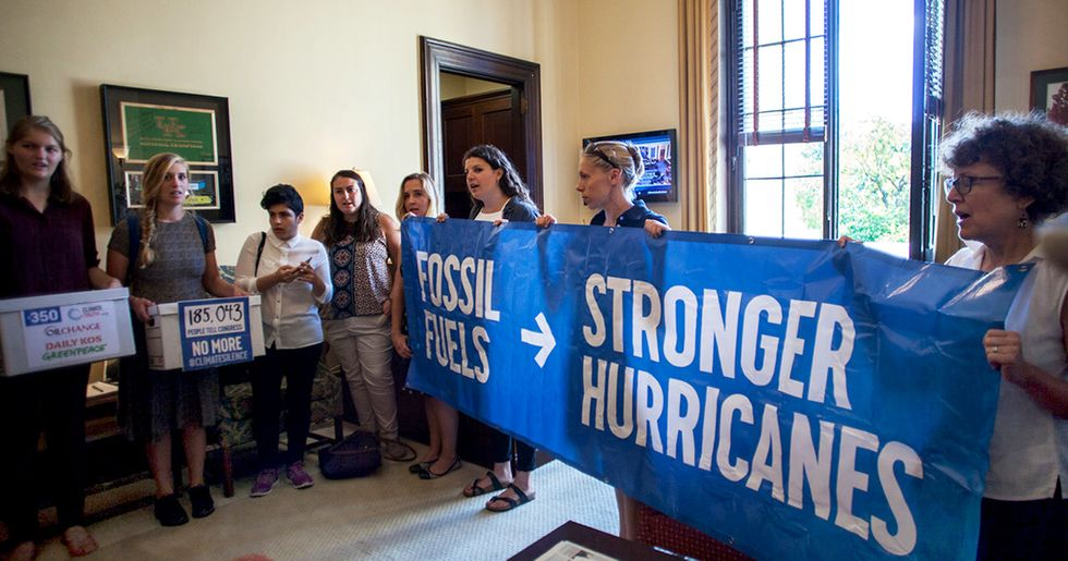 Occupying McConnell's Office, Hurricane Survivors Demand Action Over Denial
