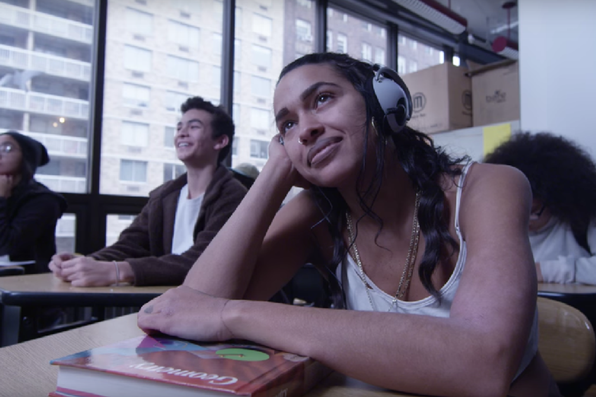 """Princess Nokia Goes Back To High School In Joint Music Video For """"Bart Simpson"""" And """"Green Line"""""""