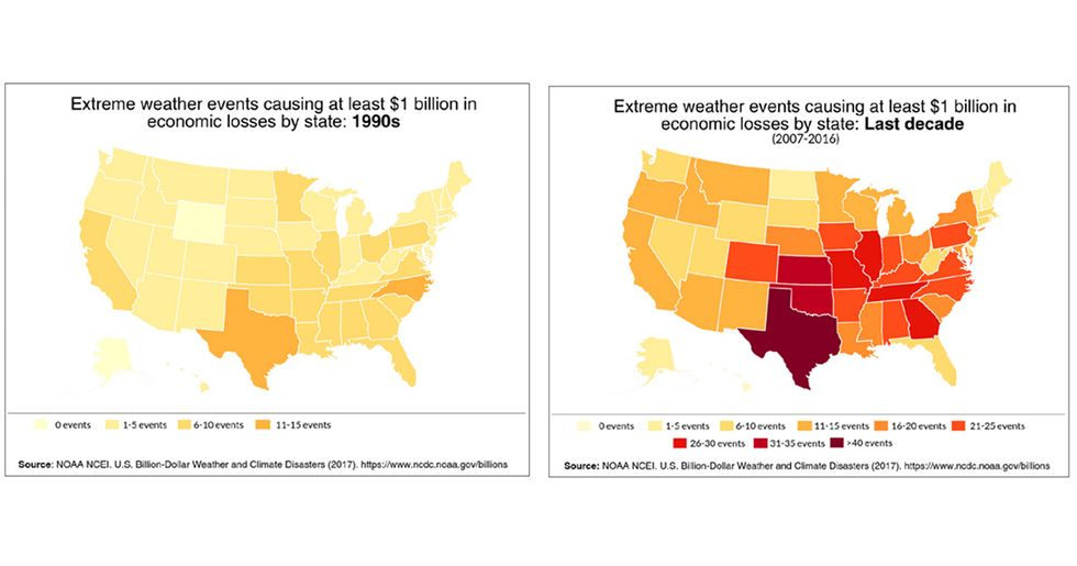 New Report Predicts Climate Change Could Cost U.S. $360 Billion Per Year
