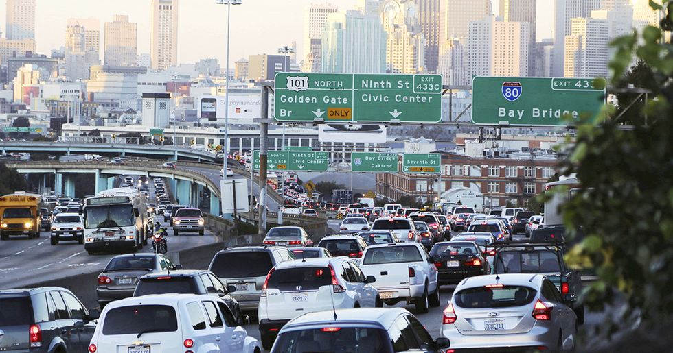 Could California Join China in Banning Gas Guzzlers?