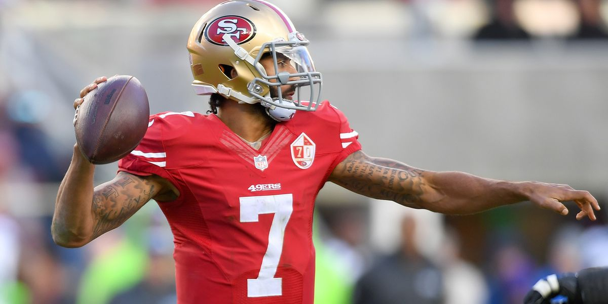 Colin Kaepernick's Jersey Now Displayed at the MoMA