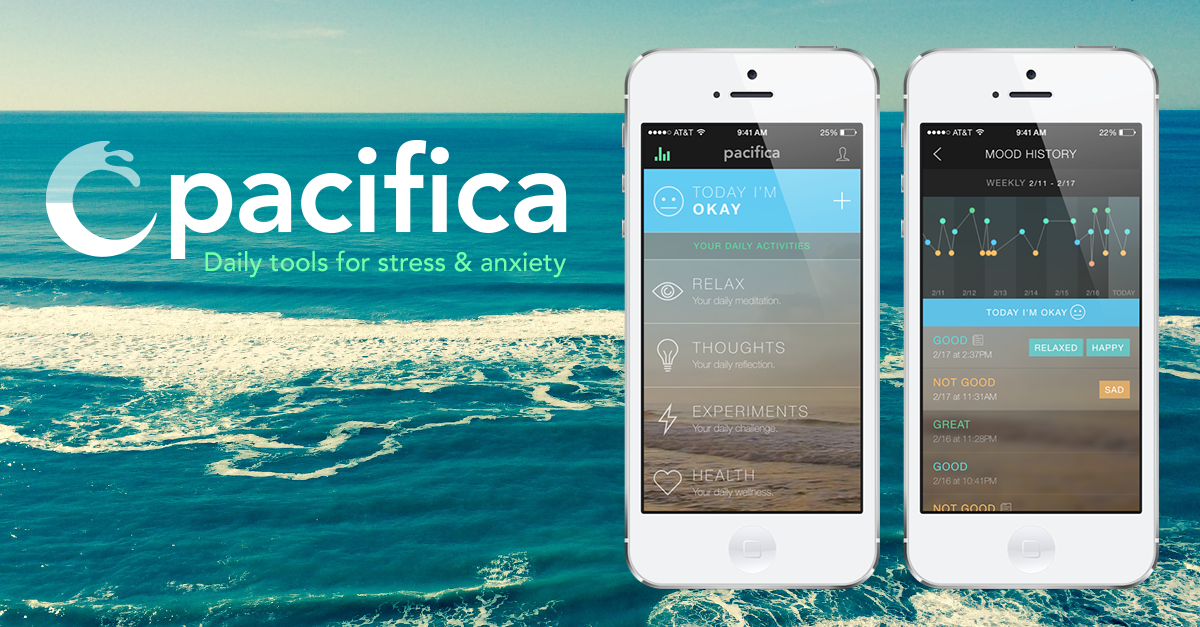 Pacifica: An App to Help with Anxiety and Stress