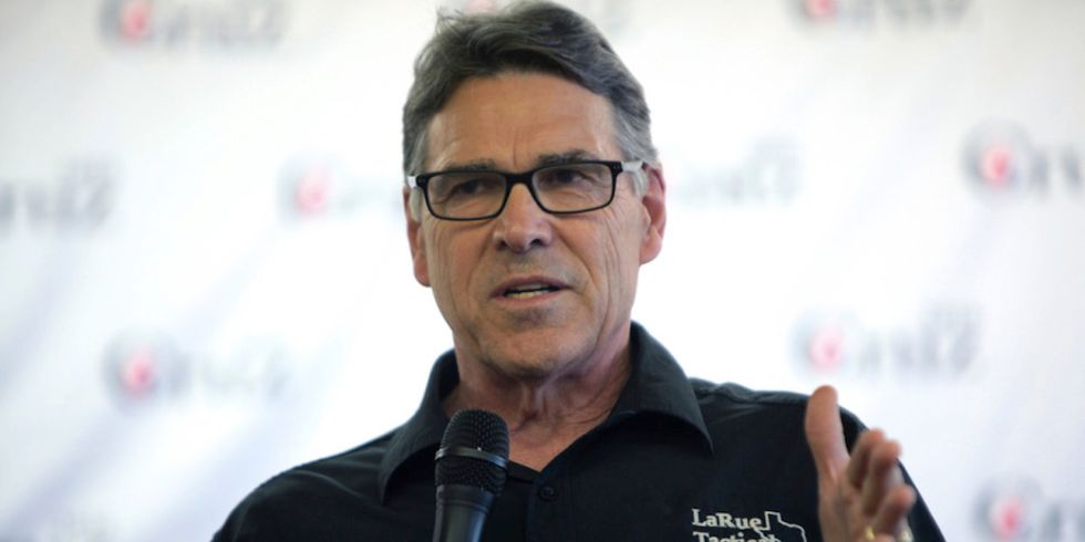 Rick Perry to Climate Activists: Fossil Fuels Save Lives
