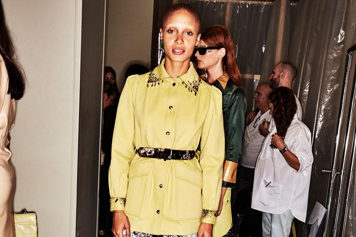 Go Backstage at Mugler, Altuzarra, and More Shows on Paris Fashion Week Day 5