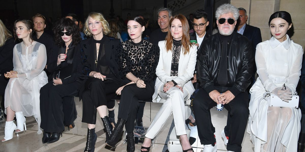 See Cate Blanchett, Julianne Moore and More Sit Front Row on Paris Fashion Week Day 6