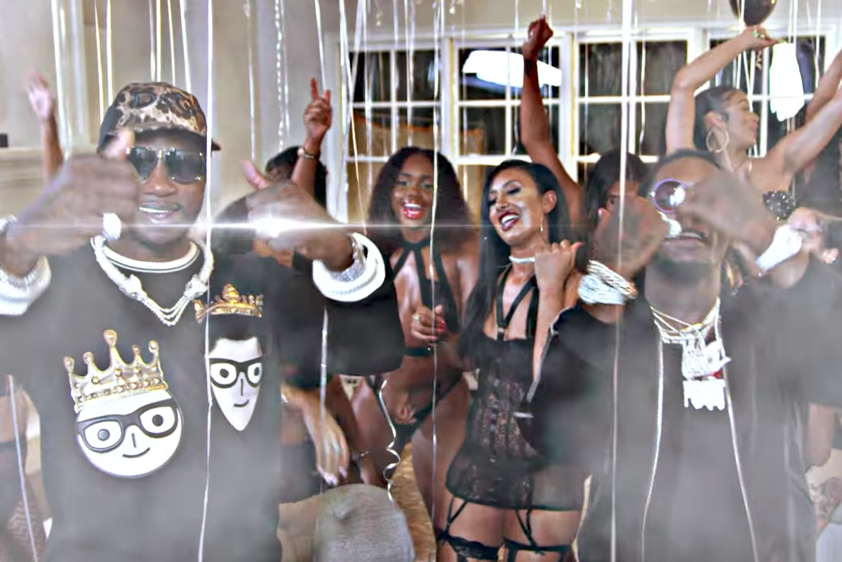 """Offset Throws Gucci Mane a Bougie Bachelor Party in """"Met Gala"""" Video"""