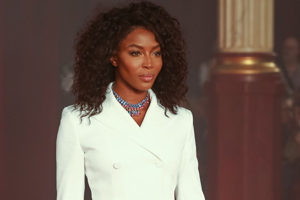 Naomi Campbell Closed the Off-White Show in Paris and Gave Life