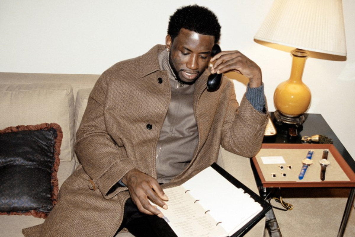 "Gucci Mane Launches ""Delantic"" Clothing Line"