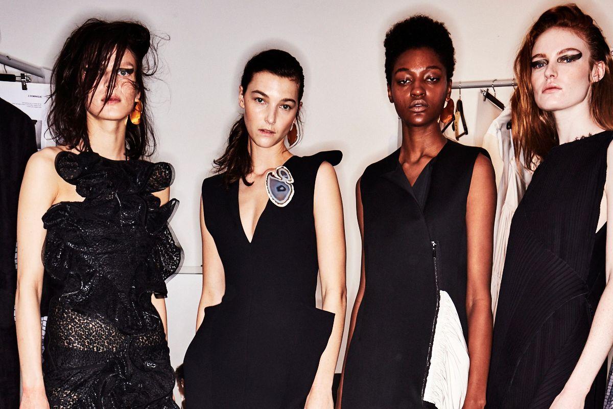 Go Backstage at Balmain, Rick Owens, and More Shows on Paris Fashion Week Day 3