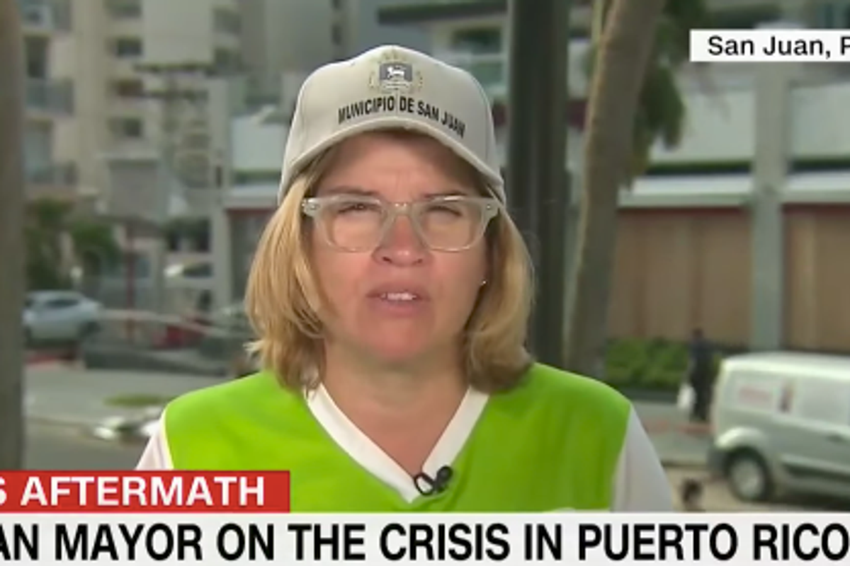 """Donald Trump Attacks San Juan Mayor for """"Poor Leadership"""" After She Begs for Help on TV"""