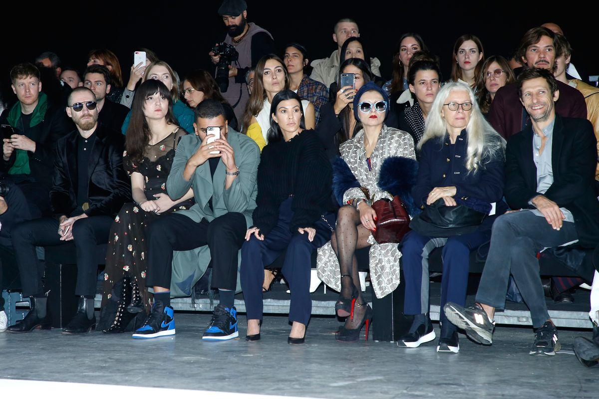 See Kourtney Kardashian, Salma Hayek, and More Sit Front Row on Paris Fashion Week Day 5
