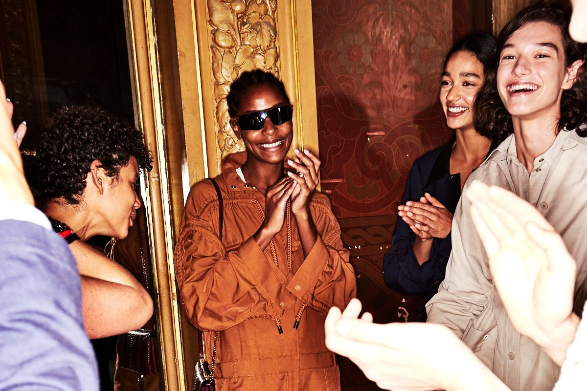 Go Backstage at Stella McCartney and More Shows on Paris Fashion Week Day 7