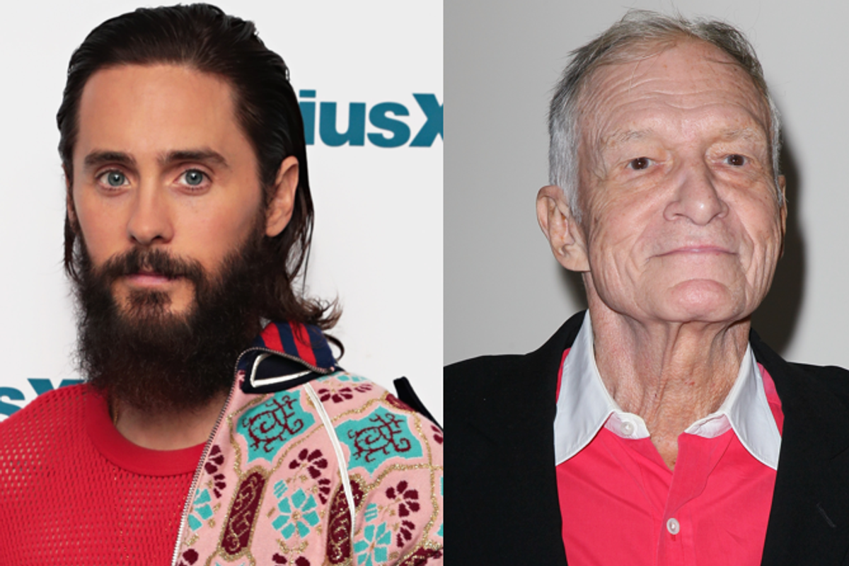 Jared Leto is Playing Hugh Hefner in New Biopic
