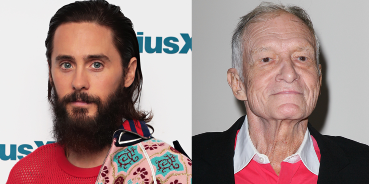 Jared Leto is Playing Hugh Hefner in New Biopic