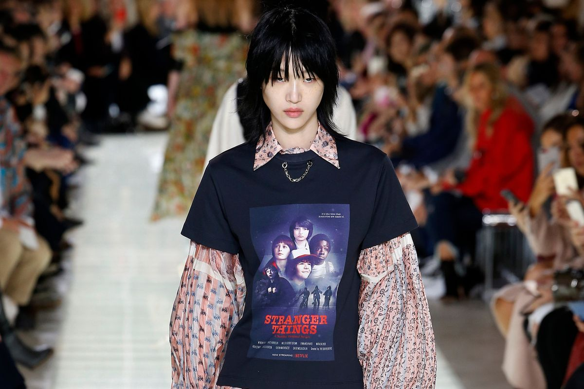 Louis Vuitton Brought Stranger Things to the Runway, Literally