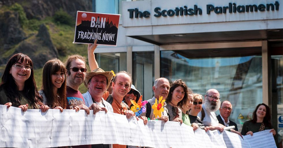 Scotland Bans Fracking After 'Overwhelming' Public Opposition