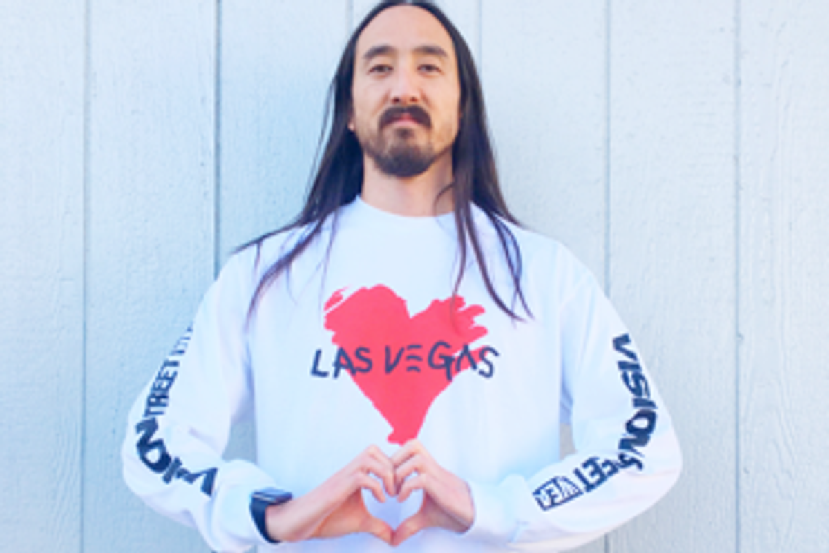 Steve Aoki Will Donate 100 Percent of Net Proceeds from This Shirt to Las Vegas Shooting Victims
