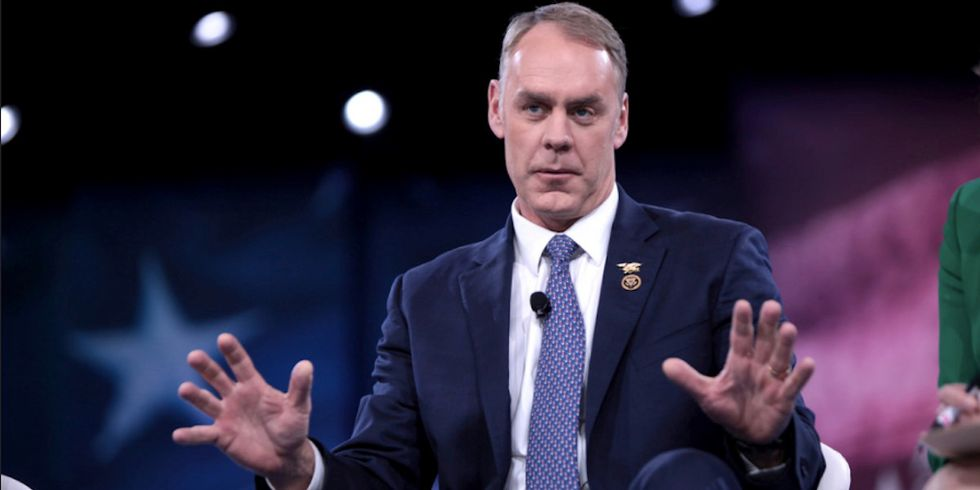Zinke Caught Raising Political Funds During Taxpayer-Funded Trips
