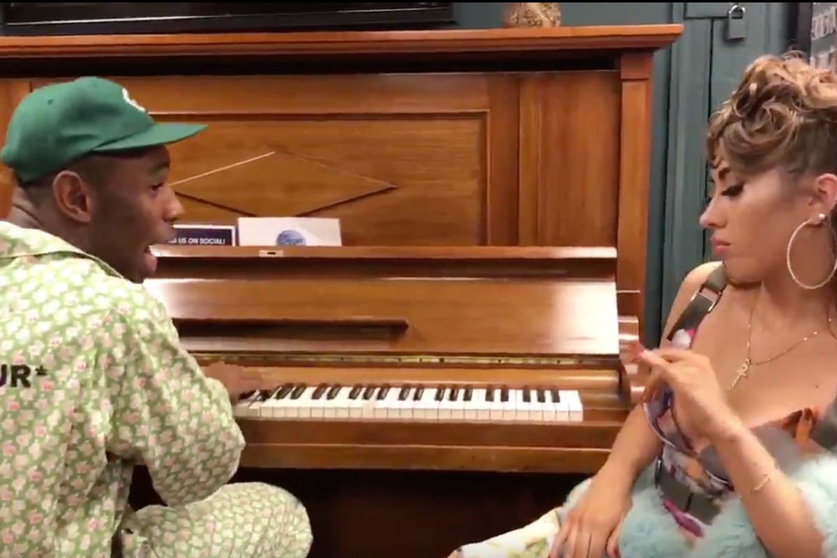 """Watch Tyler, The Creator And Kali Uchis Perform An Acoustic Version Of """"See You Again"""""""