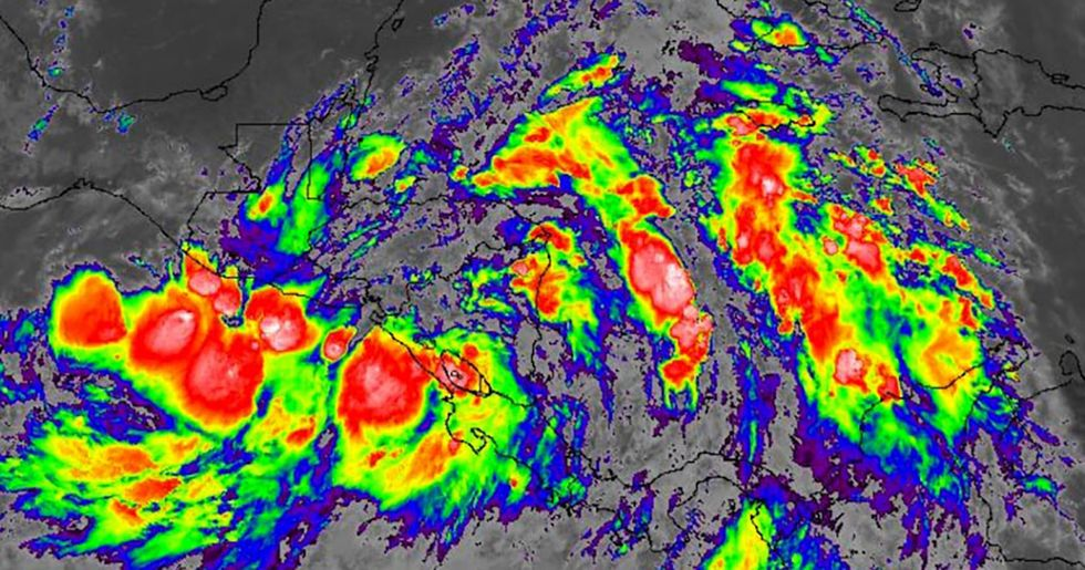 Tropical Storm Nate May Hit Mexico and U.S. Gulf Coast as a Strengthening Hurricane