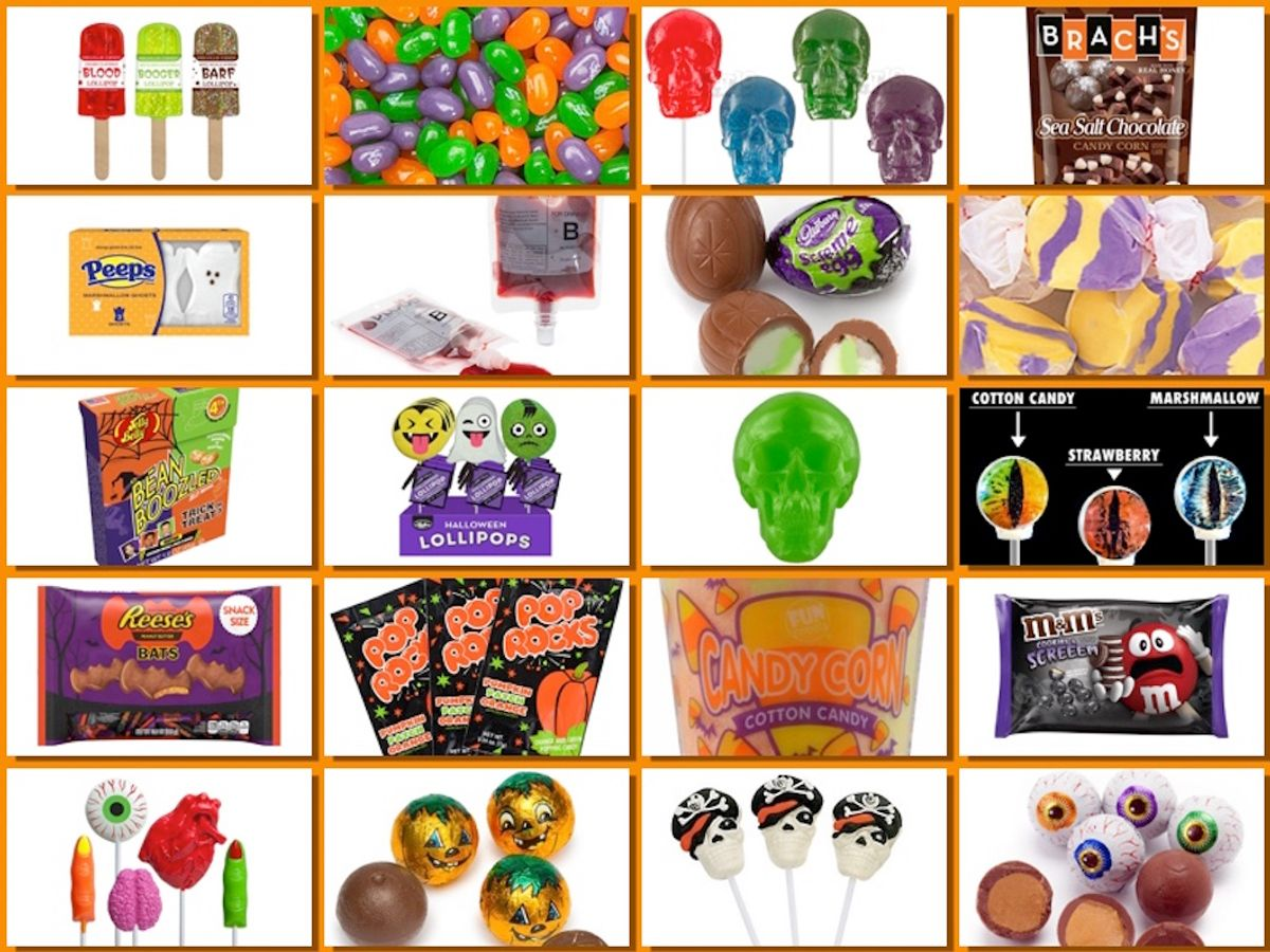 Awesome Halloween Candy You Probably Didn't Know Existed