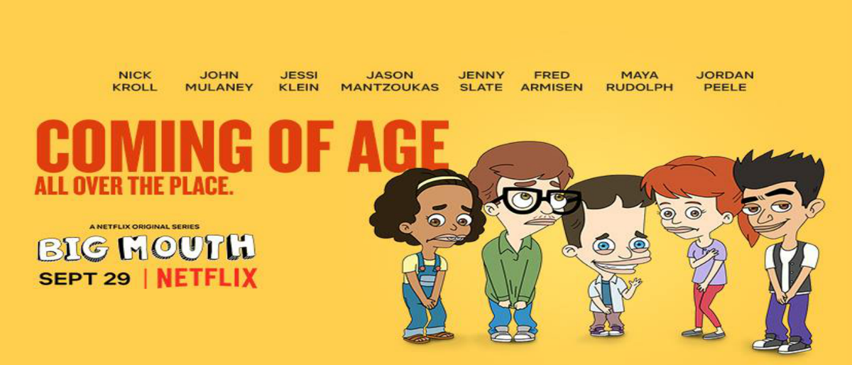 """Netflix Just released """"Big Mouth"""", And It's Everything You Need"""