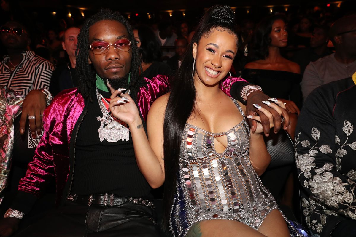 Cardi B Wins Three BET Awards, Shouts Out Jesus and Her Boo Offset