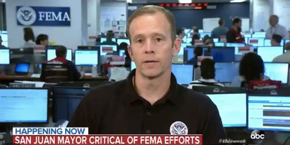 FEMA Chief Says 'We Filtered Out' San Juan Mayor After She Pleads 'We Need Water!'