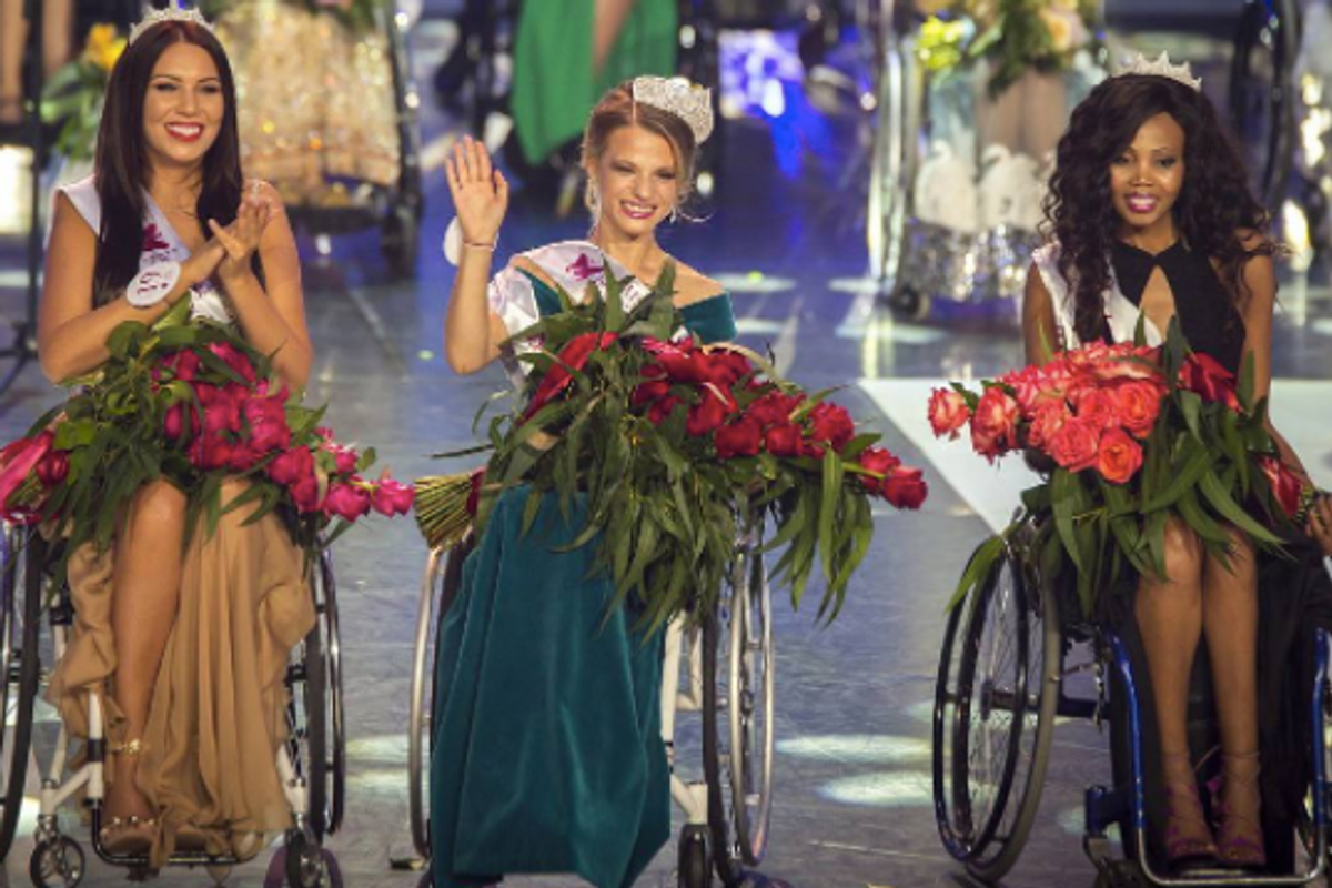 First Miss Wheelchair World Crowned