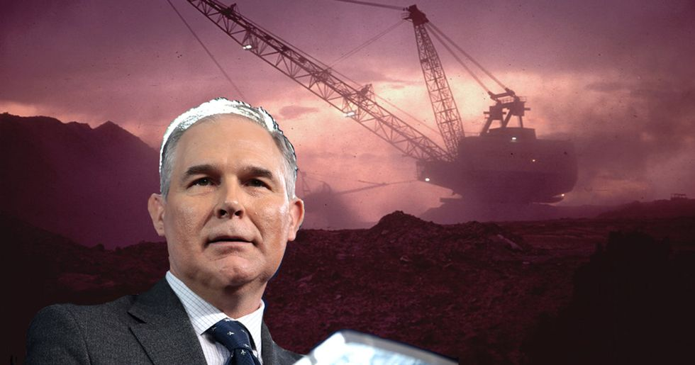 Pruitt Has Met Only 5 Times With Environmental Groups