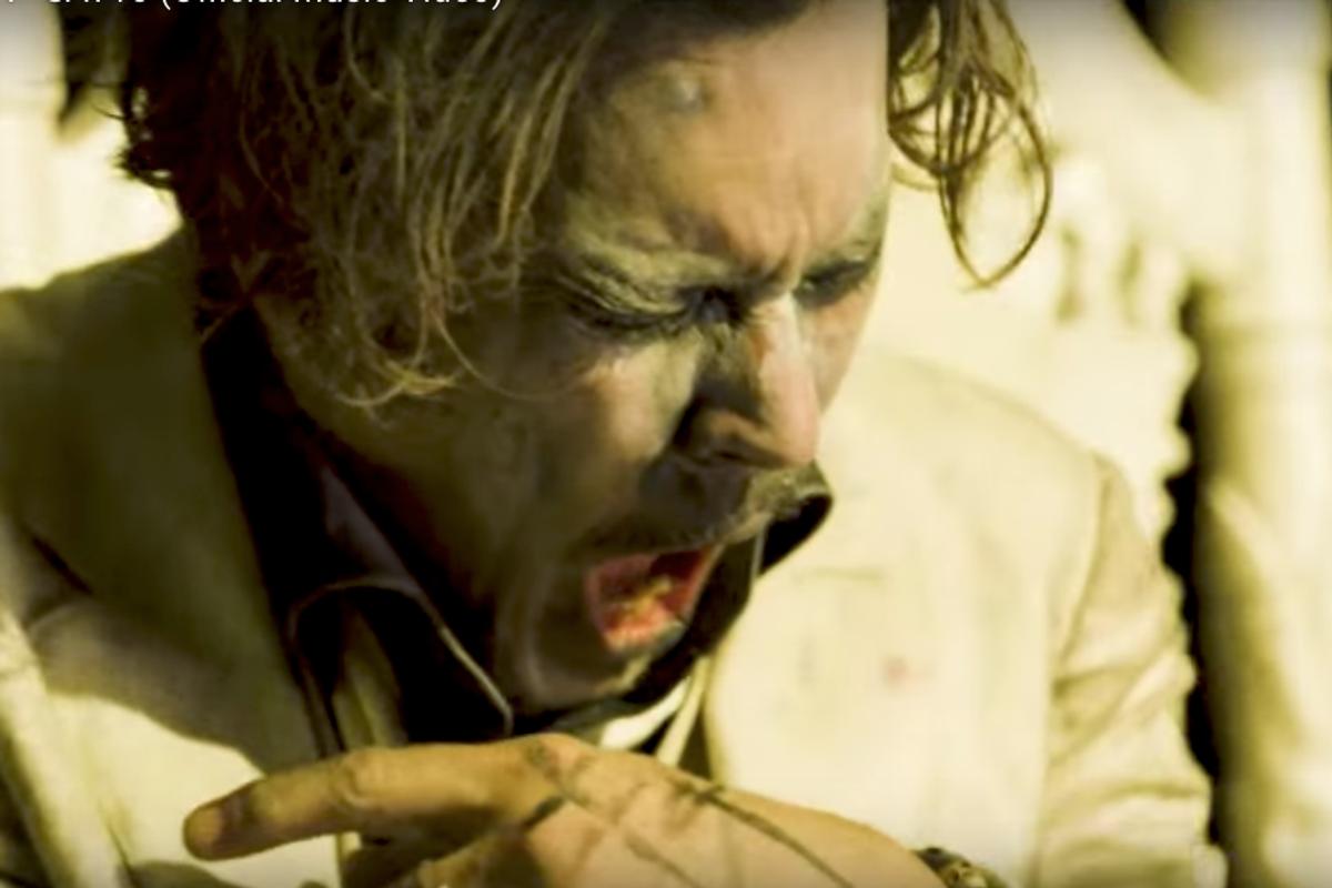 "Johnny Depp Stars in Marilyn Manson's Freaky New ""Say10"" Video"