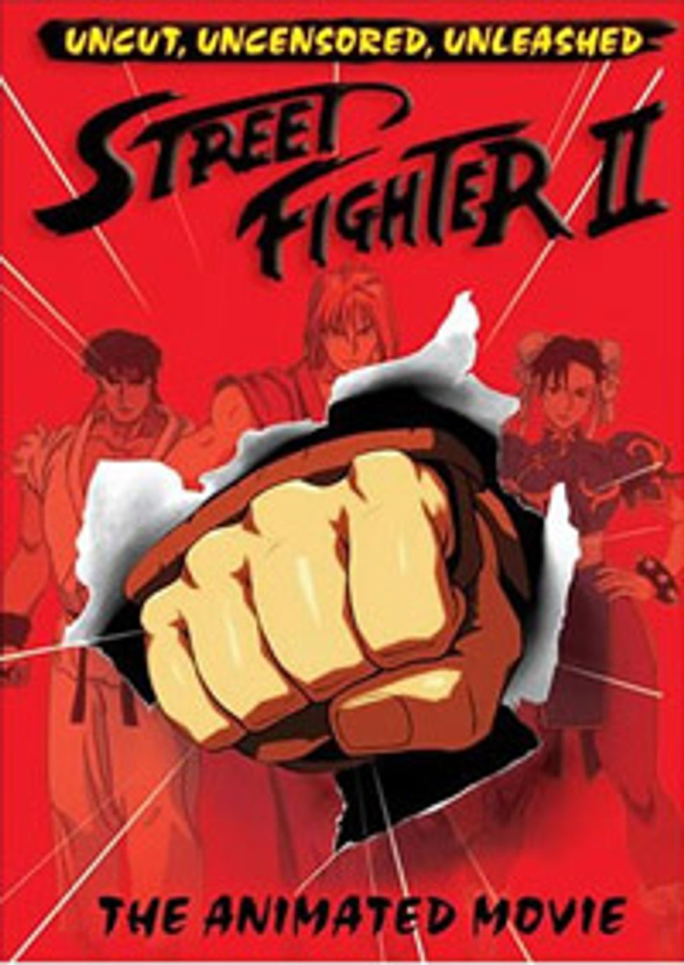 Street Fighter Ii The Animated Movie 1994 Popmatters
