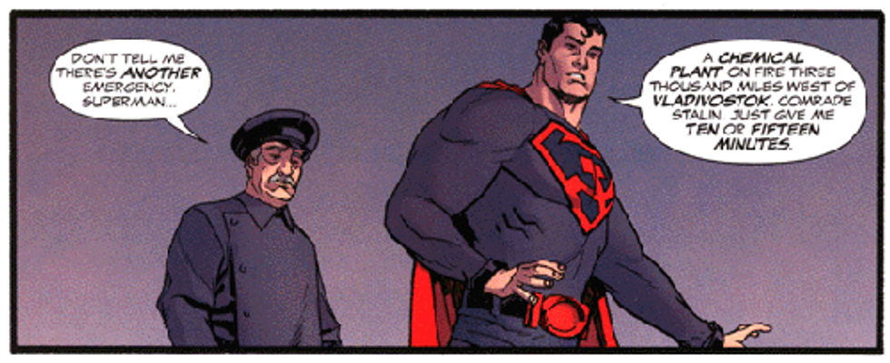 Red Menace In The Mirror Identity Politics And Identity Politics In Superman Red Son Popmatters