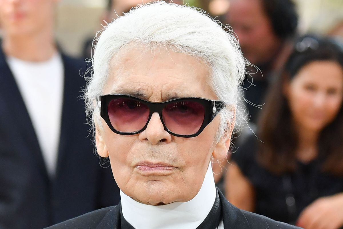 Karl Lagerfeld Depicts Hitler in Political Cartoon to Criticize Angela Merkel