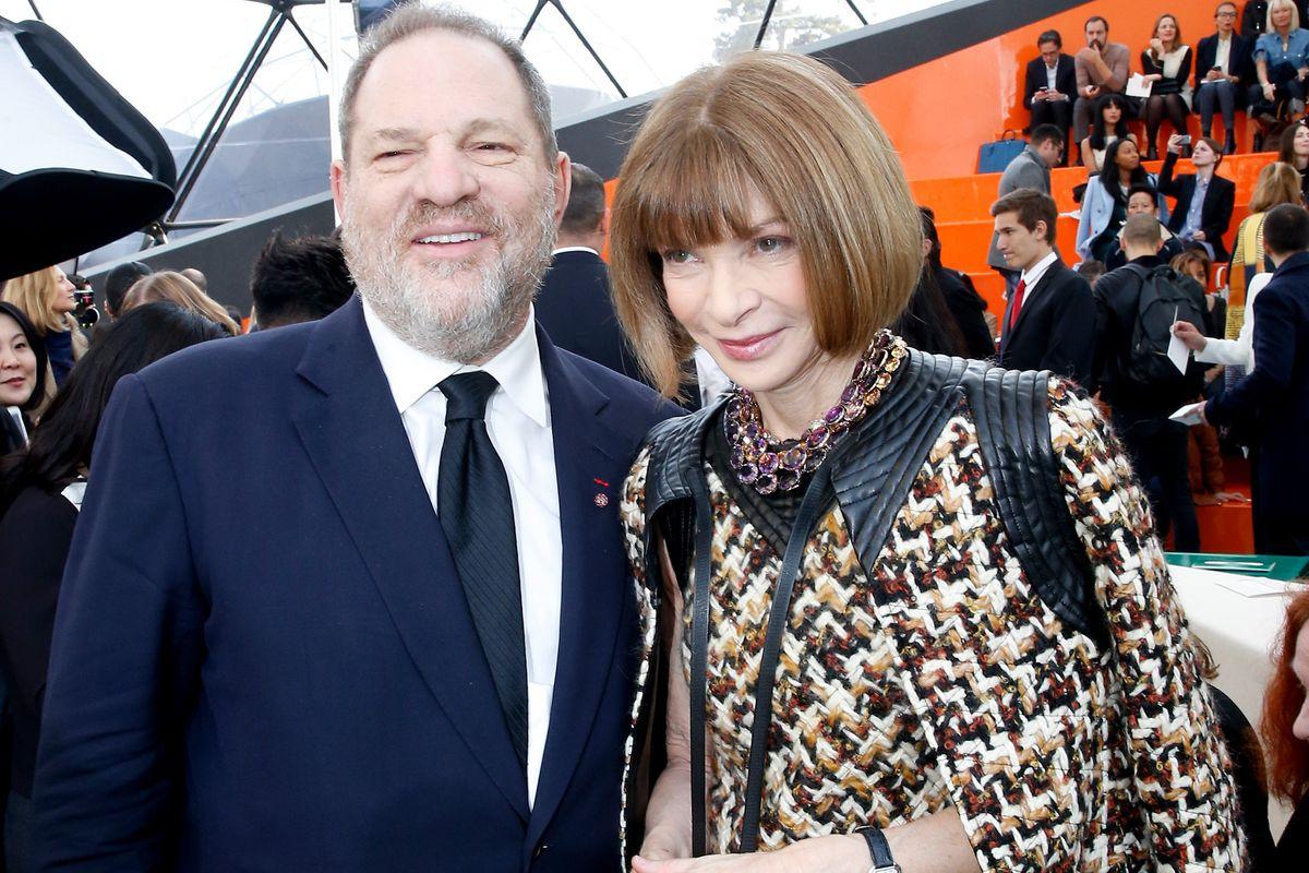 Anna Wintour Weighs in on Harvey Weinstein Scandal