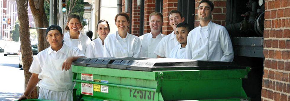 Chefs get creative about restaurant food waste.