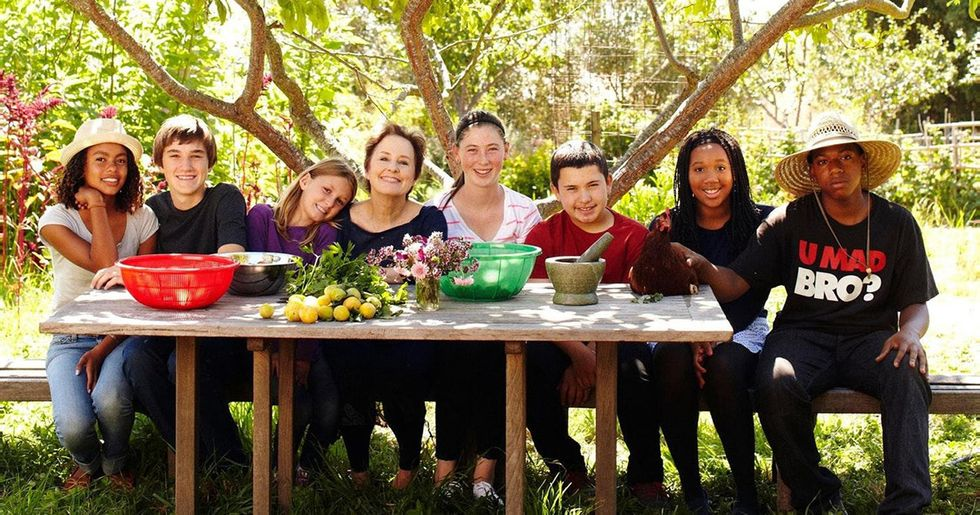 Organic Food and Farm-to-Table Pioneer Alice Waters Is Creating a Revolution in School Lunches